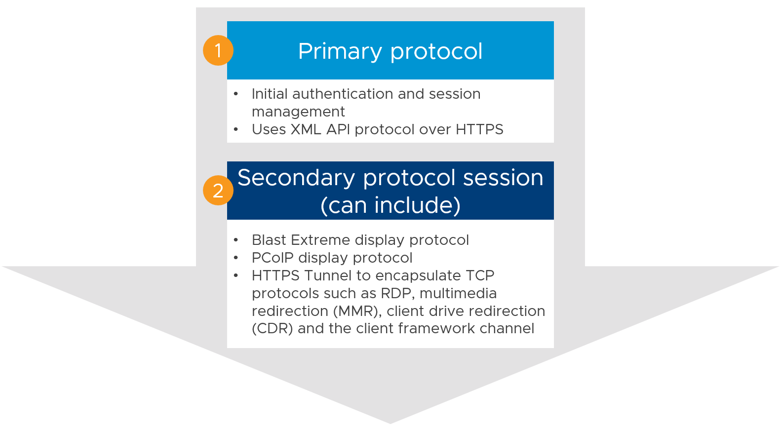 primary and secondary protocols