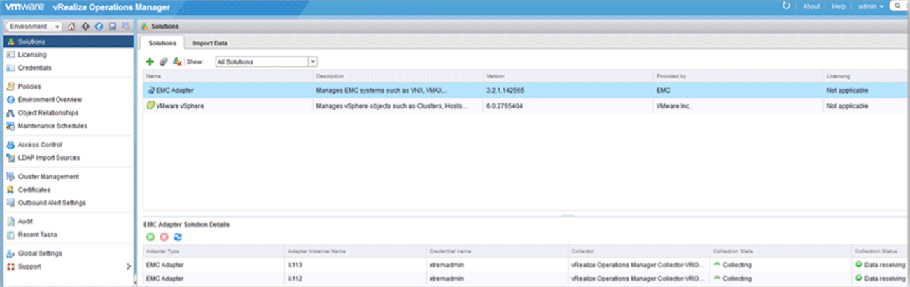 Integrating EMC Storage Analytics with vRealize Operations Manager