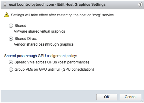 Deploying Hardware-Accelerated Graphics with VMware Horizon