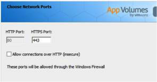 Choose Network Ports