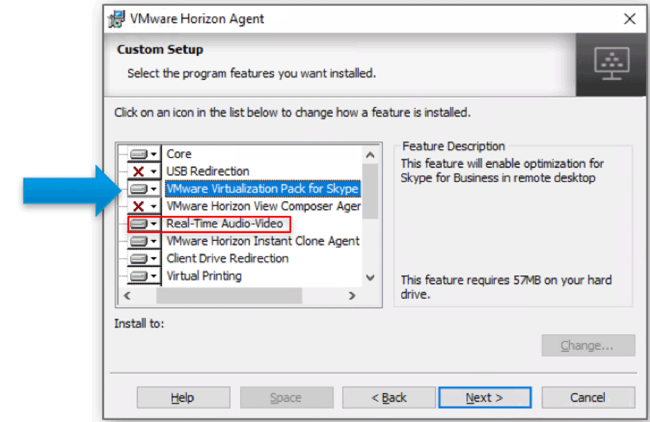 Configurations During Horizon Agent Installation