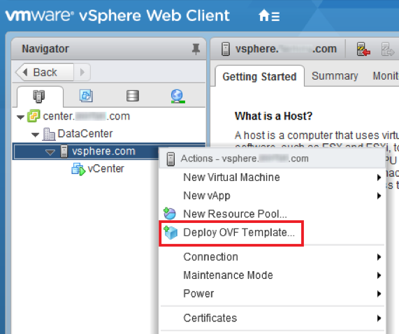 Deploy the VMware Identity Manager OVF File