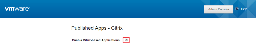 Enable Citrix-Based Applications