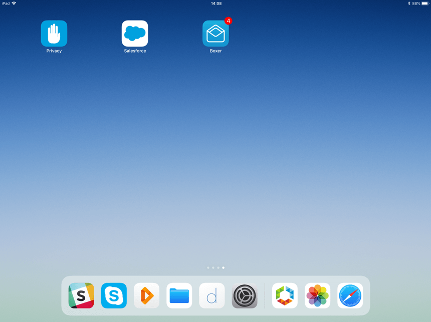 Native Apps on iOS Home Screen