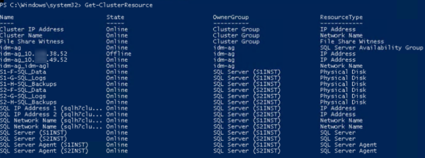 configure advanced listener parameters in powershell