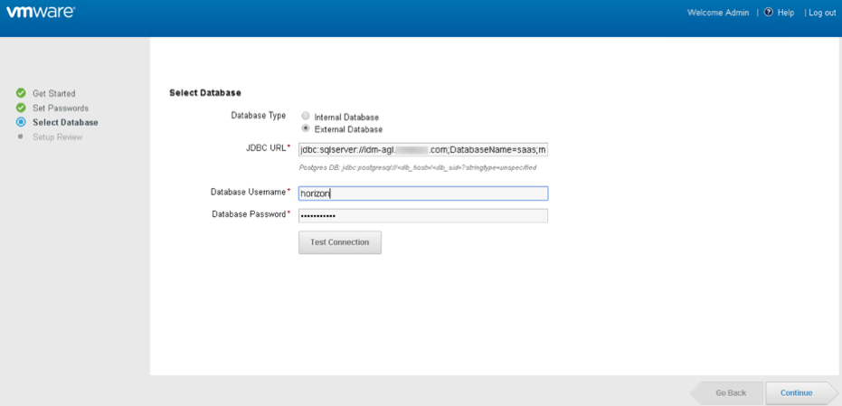 set up VMware Identity Manager