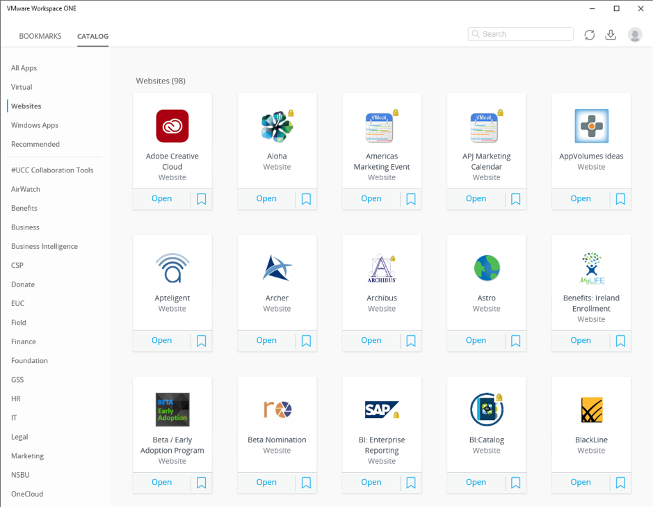 Cloud Application Catalog for End Users
