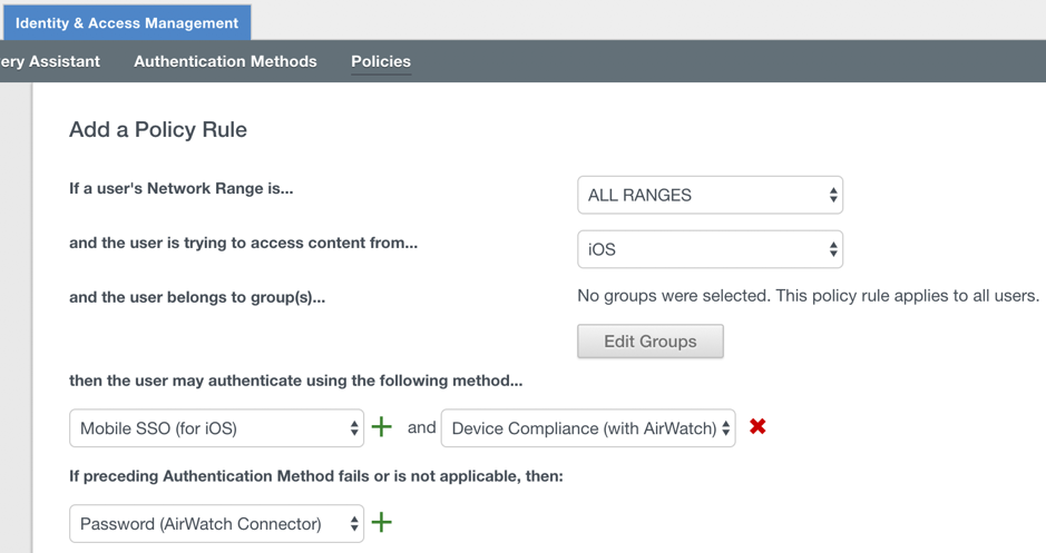 Device Compliance Policy