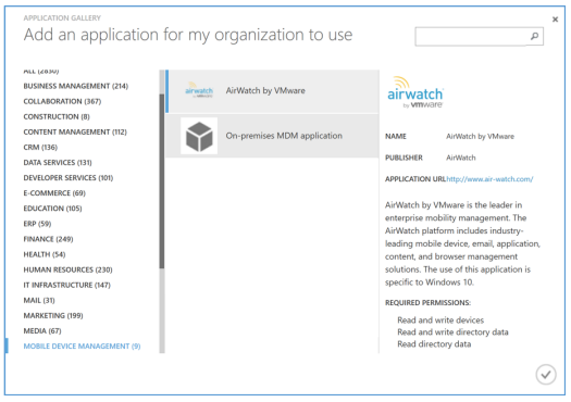Reviewers guide for windows 10 unified endpoint management in 5 leave the azure portal open and open a new tab yelopaper Gallery