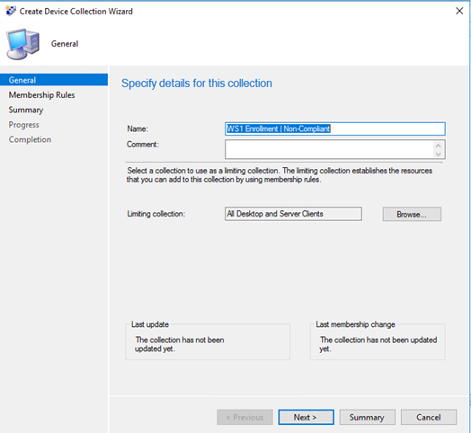 Maintain Workspace ONE Enrollment with SCCM Configuration Baselines