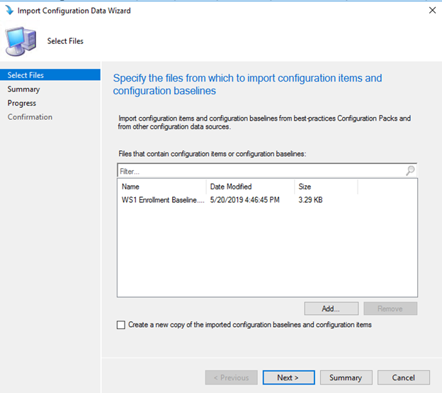 Maintain Workspace ONE Enrollment with SCCM Configuration