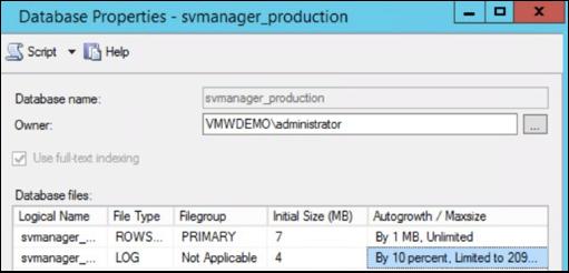 VMware App Volumes Database Best Practices | VMware