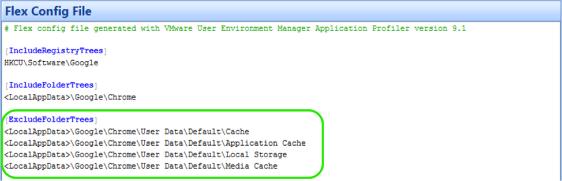 Profiling Applications: VMware User Environment Manager
