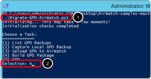 Operational Tutorial for VMware Workspace ONE: Moving