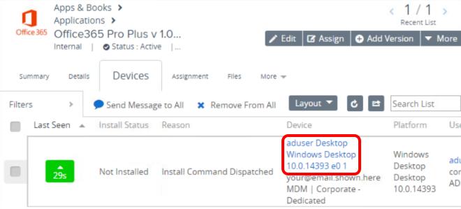 QS-WS1-SaaS - Configuring Windows 10 Software Distribution