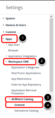 Enable the Application Catalog