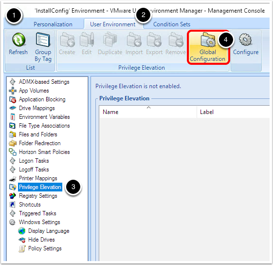 Quick-Start Tutorial for User Environment Manager - Advanced