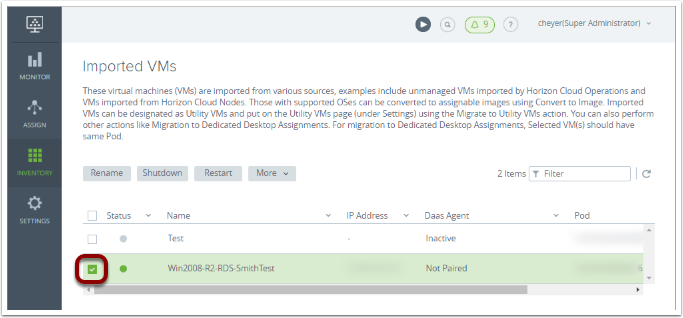 Quick-Start Tutorial for VMware Horizon Cloud with Hosted